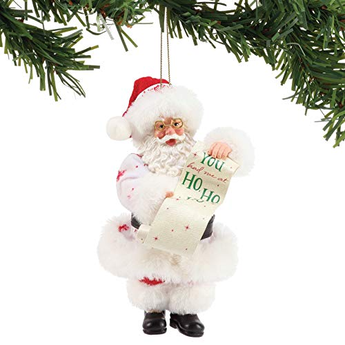 Department 56 Possible Dreams Ho Personalizable Hanging Ornament, 6 Inch, Multicolor