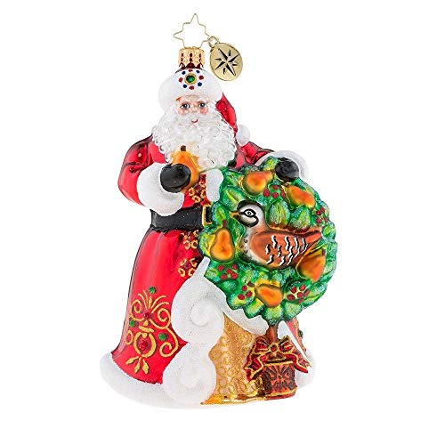 Christopher Radko The Perfect Pear Christmas Ornament