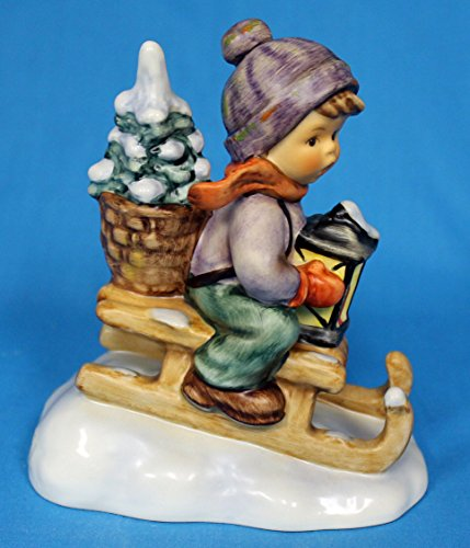 Hummel MI Hummel Figurines Ride INTO Christmas 4.25″