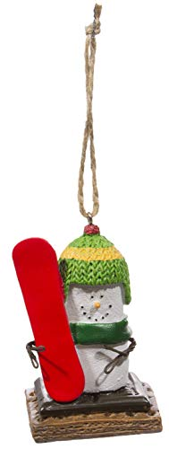Midwest Gloves S'Mores Winter Sports Christmas/Everyday Ornament – Snowboarder