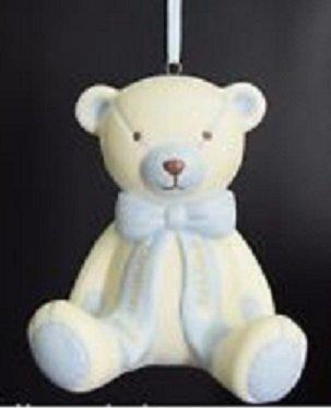 Holiday Lane 2014 Baby's 1st Christmas Ornament Porcelain Teddy Bear – 2014