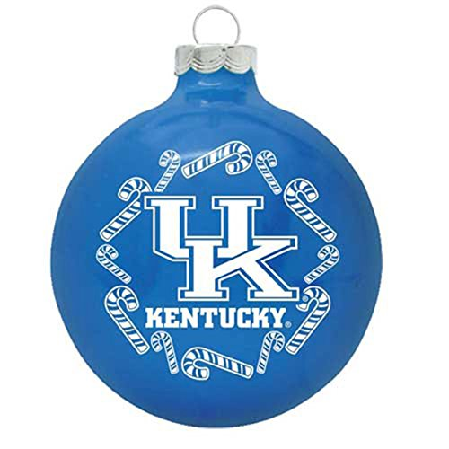 Topperscot Kentucky Wildcats 2013 Traditional Christmas Ornament – Royal,