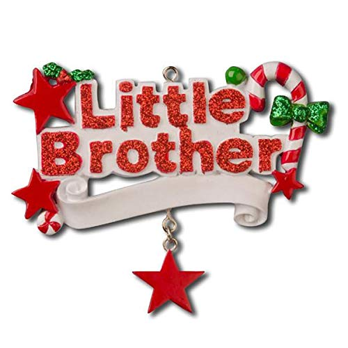 Polar X Little Brother Personalized Christmas Ornament
