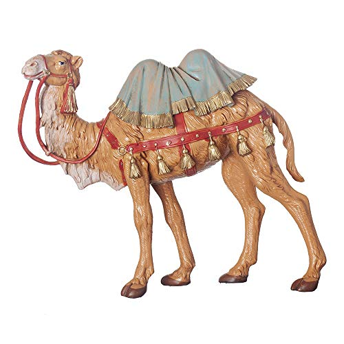 Fontanini, Nativity Figure, Standing Camel, 7.5″ Scale