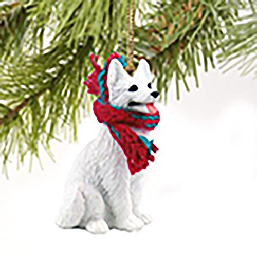 Conversation Concepts German Shepherd White Original Ornament