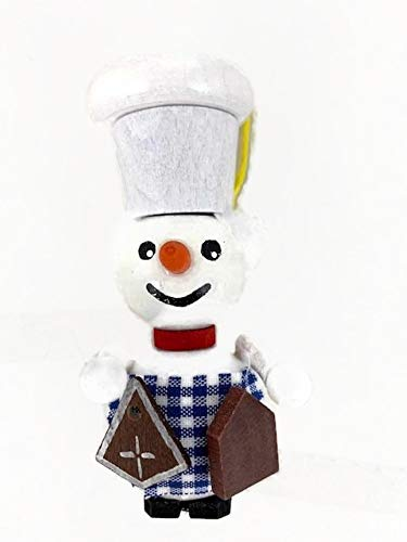 Steinbach Nutcracker Baker Snowman Christmas Tree Ornament Handmade in Germany 2019