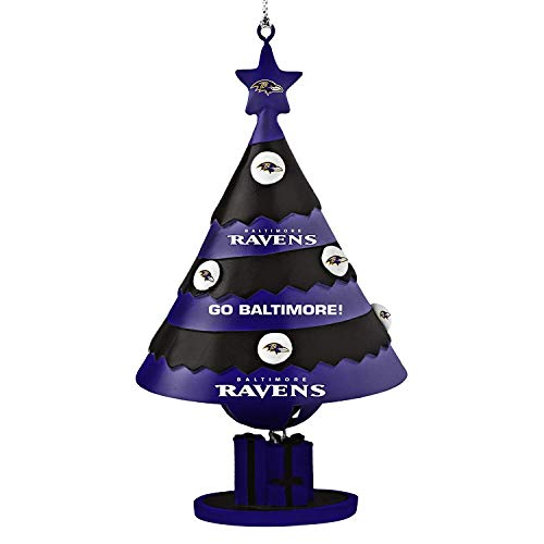 NFL Baltimore Ravens Tree Bell Ornament
