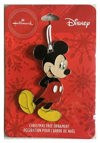 Halmark Disney Mickey Mouse Metal Christmas Tree Ornament Decoration