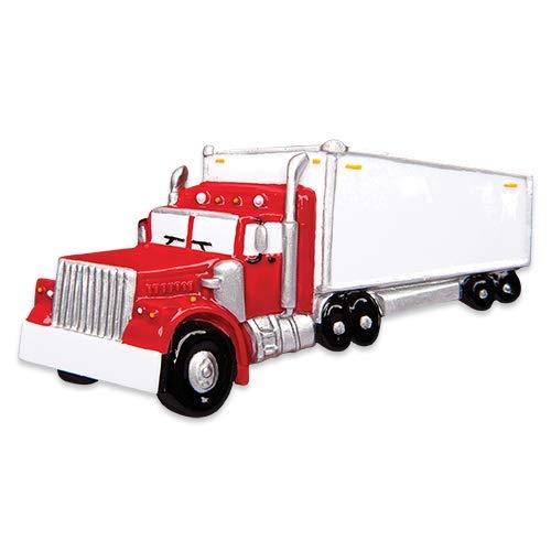 Polar X Semi Truck Personalized Christmas Ornament