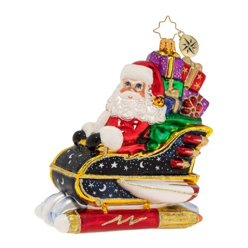 Christopher Radko Starry Night Ride Christmas Ornament