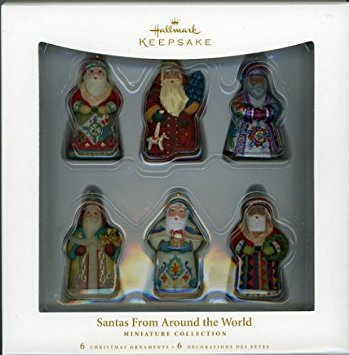 Hallmark Keepsake Ornament Santas From Around the World 2006 QXM3143