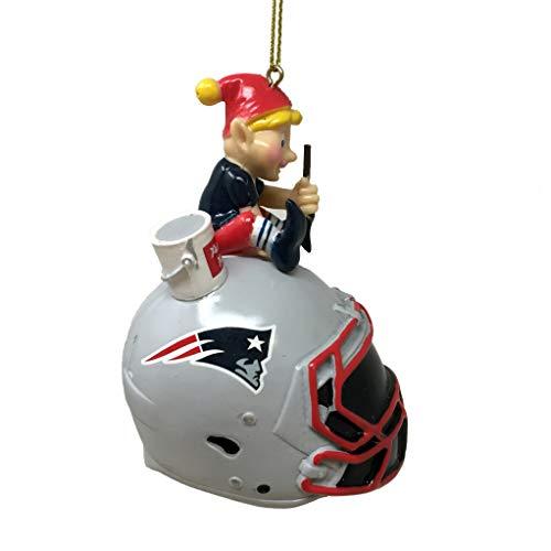 Spectrum Deluxe NFL/NCAA Team Elf Ornament (New England Patriots)