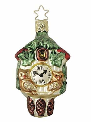 Inge-Glas Old World Timepiece Christmas Ornament