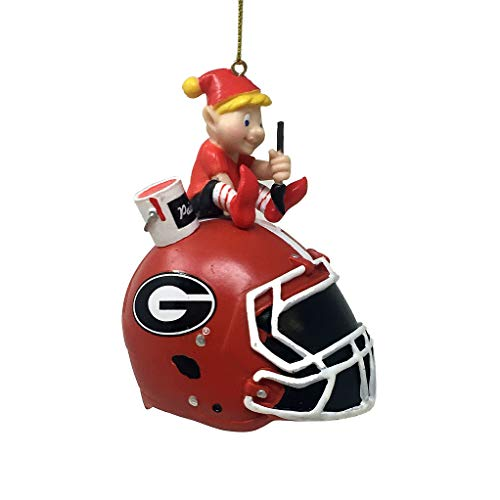 Spectrum Deluxe NFL/NCAA Team Elf Ornament (Georgia Bulldogs)
