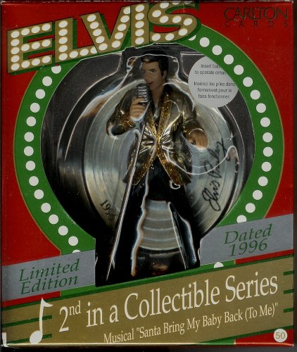 Limited Edition Elvis Presley Collectible Ornament