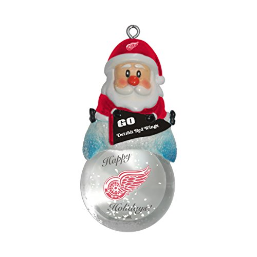 NHL Detroit Red Wings Snow Globe Ornament