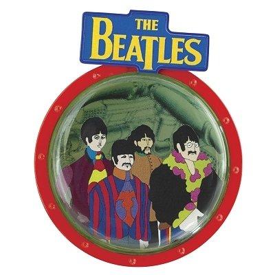 Carlton Cards 3.5″ Heirloom The Beatles Submarine Porthole Disc Christmas Ornament