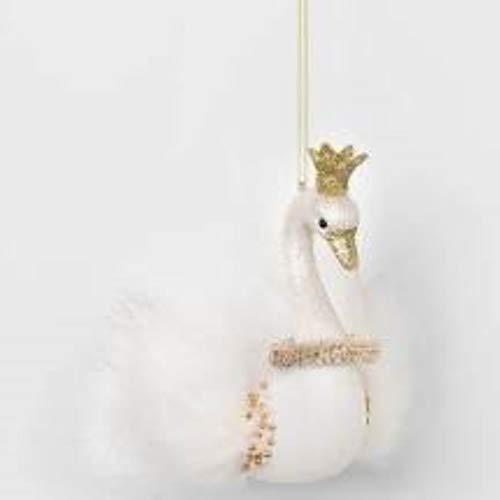 Holiday Lane Swan Ornament