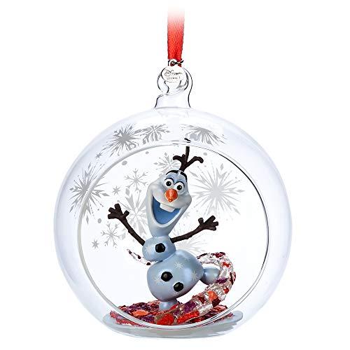 Disney Olaf Glass Globe Sketchbook Ornament – Frozen II