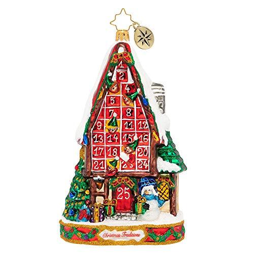 Christopher Radko Festive Advent Calendar Christmas Ornament