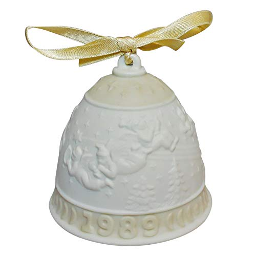 Lladro Annual 1989 Christmas Bell 15616 (Ornament)