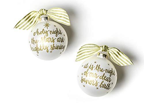 Coton Colors Stars are Brightly Shining Glass Ornament