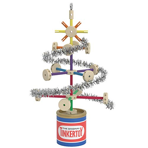 Hallmark Keepsake Christmas Ornament 2019 Year Dated Tinkertoy Tree