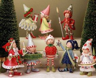 Patience Brewster – Elf Ornament Set