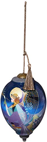 Ne'Qwa Standard Princess Vibrant Angel Ornament, Multi