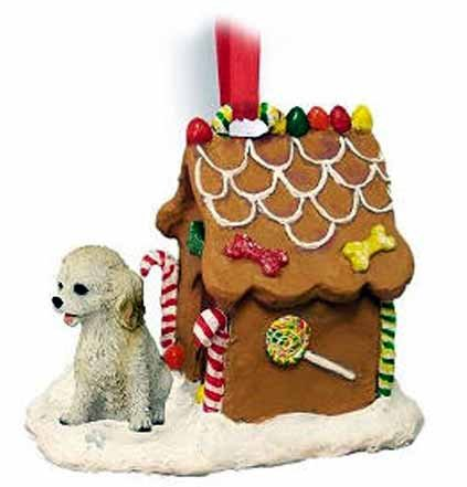 Conversation Concepts Cockapoo Gingerbread House Christmas Ornament Blonde – DELIGHTFUL!