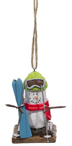 Midwest Gloves S'Mores Winter Sports Christmas/Everyday Ornament – Skier