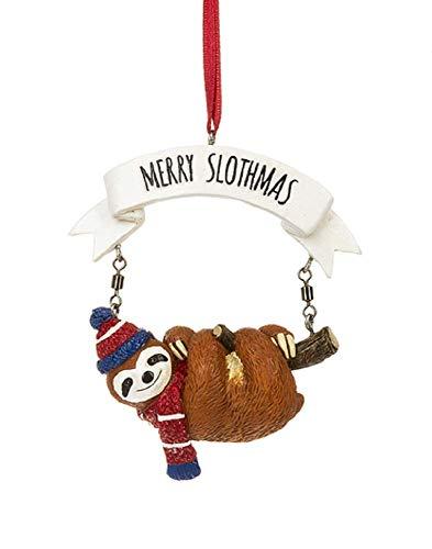 Ganz Merry Slothmas Sloth Ornament