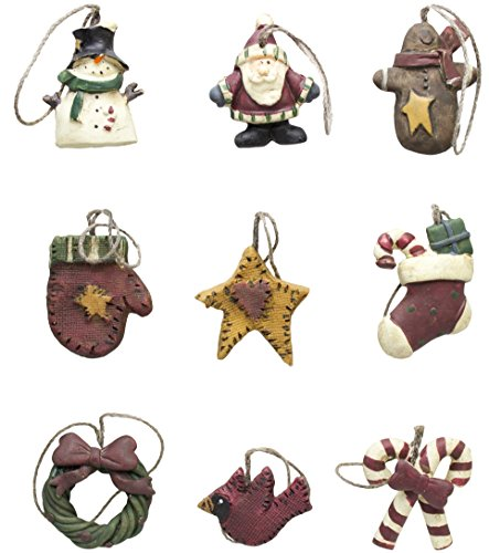Mini Primitive Ornaments Set/9 (1)