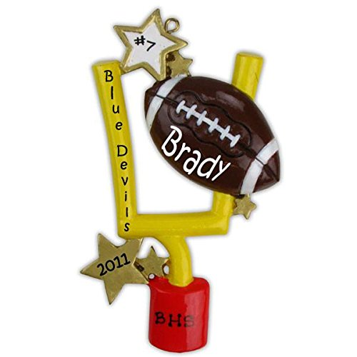 Polar X Football Sports Personalized Christmas Ornament
