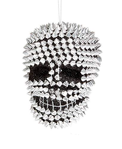 Holiday Lane Spiked Skull Ornament