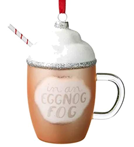 Holiday Lane Sweet Tooth Eggnog Ornament