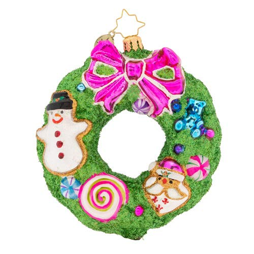 Christopher Radko Delightfully Decadent Wreath Christmas Ornament