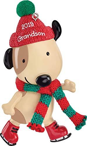 Carlton Grandson Heirloom Dated 2019 Ornament