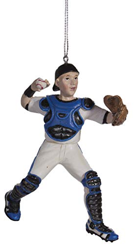 Midwest Baseball Catcher Christmas/Everyday Ornament