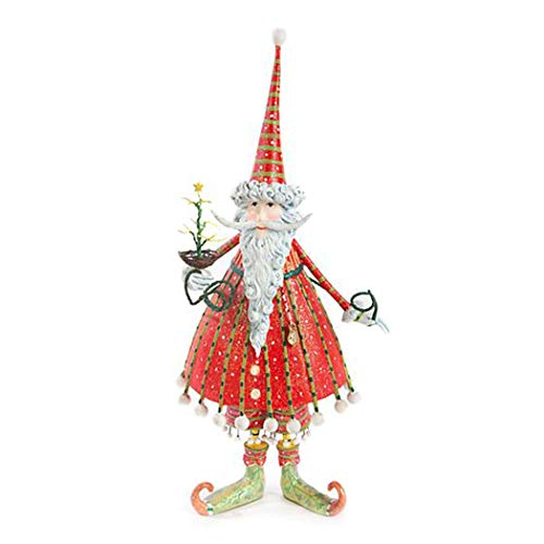 Patience Brewster Krinkles Dash Away Dashing Santa Figure