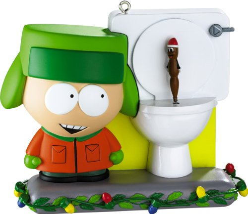 Carlton Heirloom Magic Ornament 2010 Kyle and Mr. Hankey – South Park – #CXOR112X