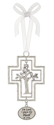 Ganz 3D Ornament – Oh Lord, I place my Trust in you