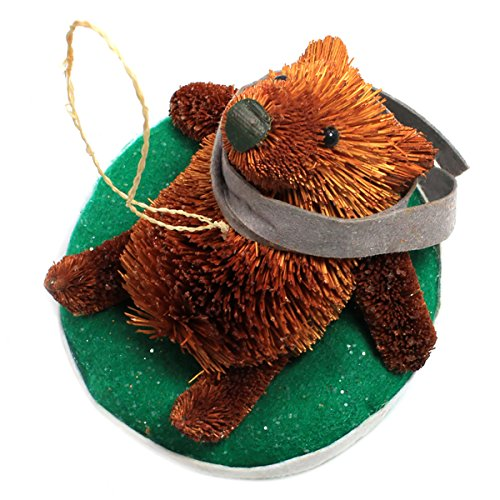 Holiday Lane Macy's Buri Woodland Animal Ornament – Bear