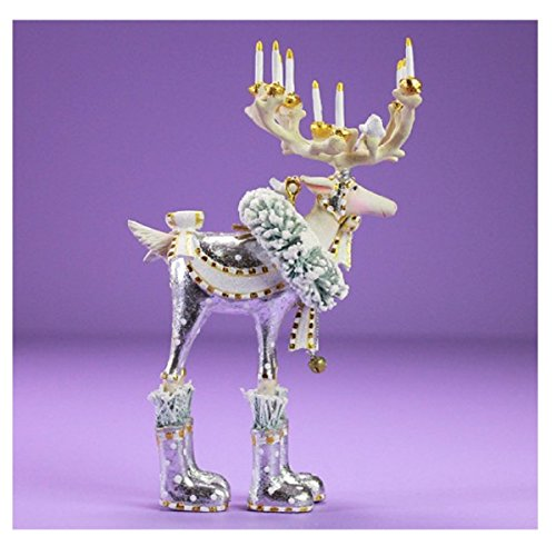 Patience Brewster Moonbeam Dasher Reindeer Ornament