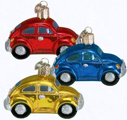 Old World Christmas Ornaments: Buggy Glass Blown Ornaments for Christmas Tree
