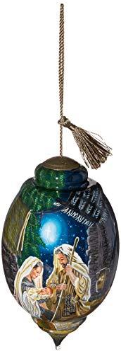 Ne'Qwa Limited Edition Trillion Glory to God Nativity Ornament, Multi