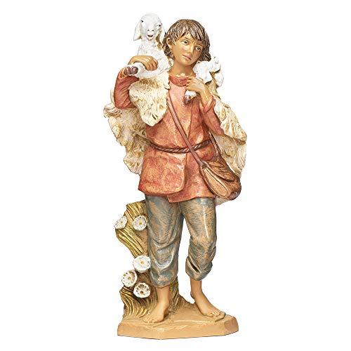 Fontanini, Nativity Figure, Gabriel The Shepherd, 12″ Scale