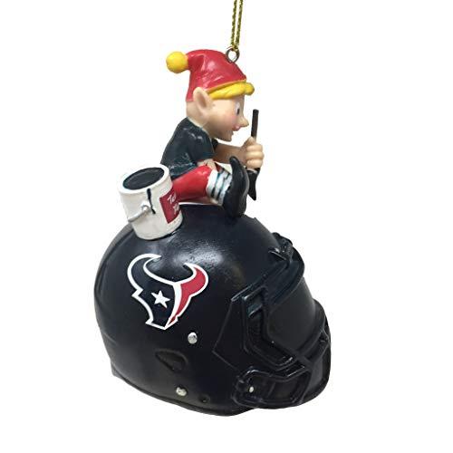 Spectrum Deluxe NFL/NCAA Team Elf Ornament (Houston Texans)