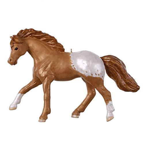 Hallmark Keepsake Christmas 2019 Year Dated Appaloosa Dream Horse Ornament