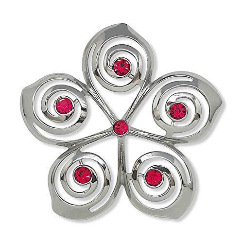 Island Heritage Jewel Metal Hawaiian Christmas Ornament – Plumeria